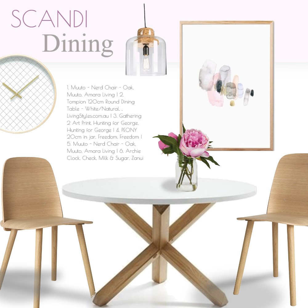 Scandi Mood Board by Jo Taylor on Style Sourcebook