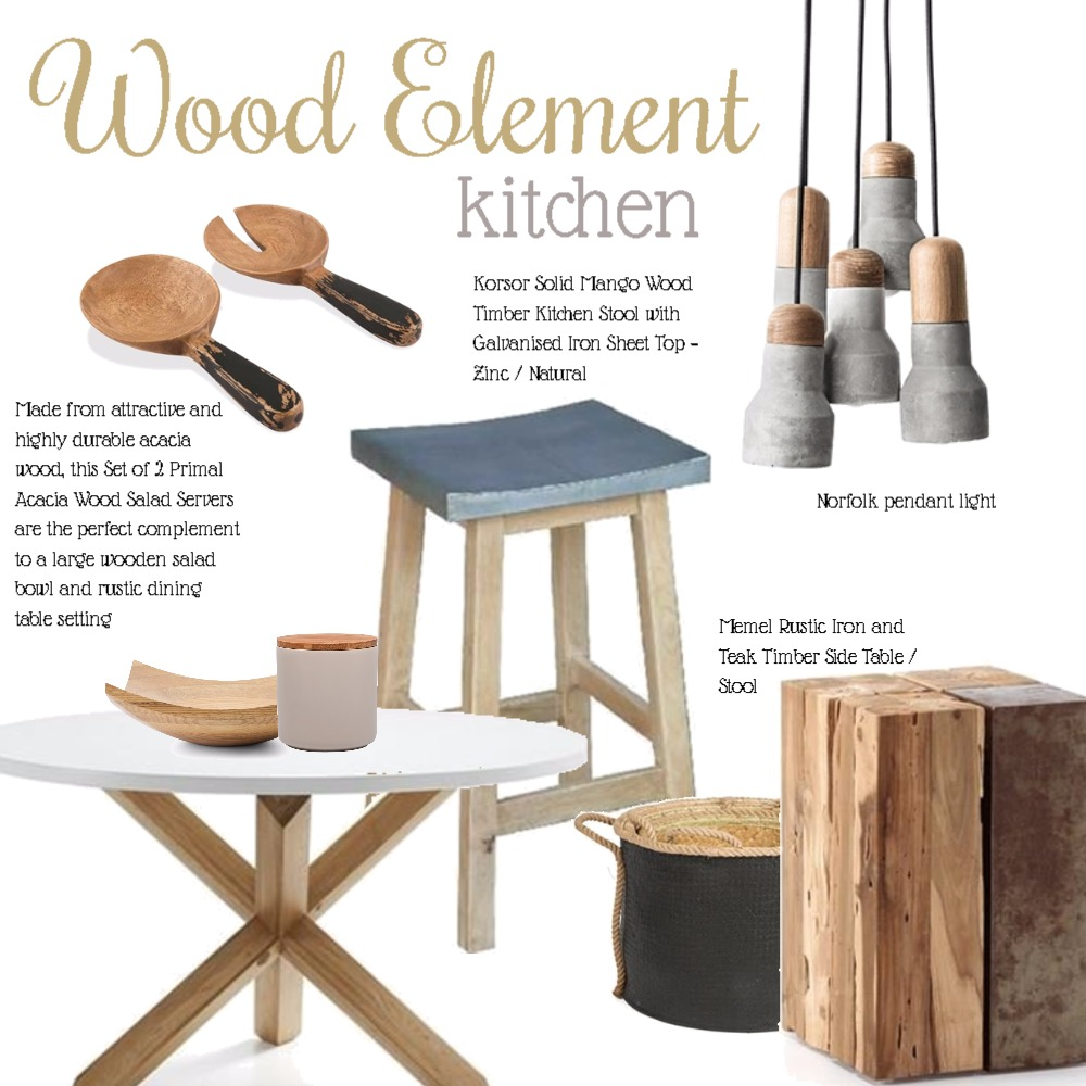 Wood element kitchen Mood Board by Dian Lado on Style Sourcebook