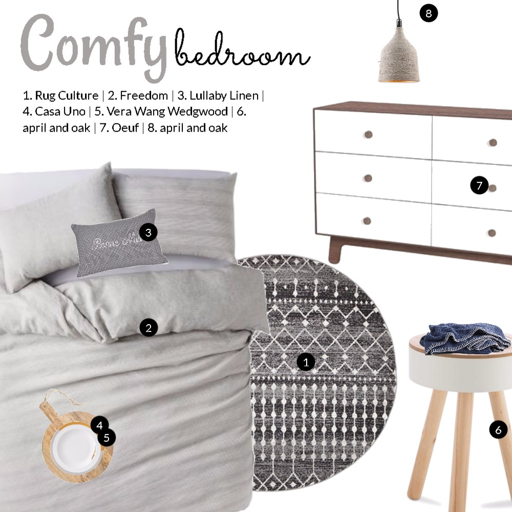 Comfy bed Mood Board by Dian Lado on Style Sourcebook