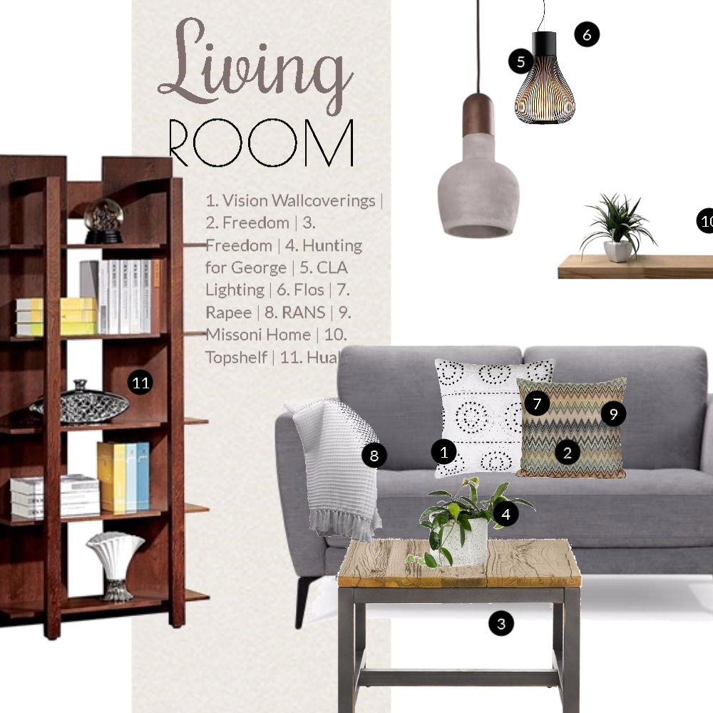 Dream Living Room Mood Board by Dian Lado on Style Sourcebook