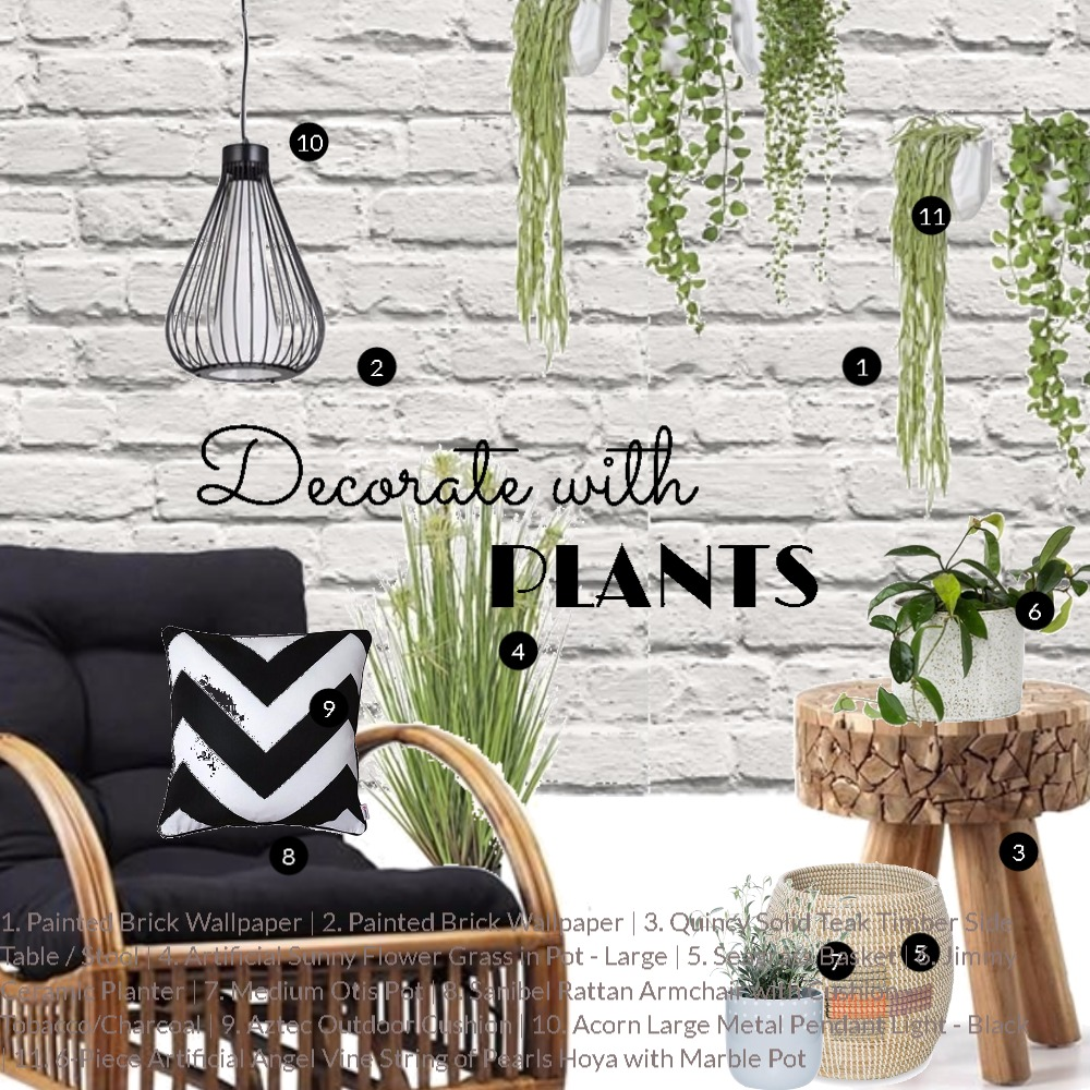 Decorate with plants Mood Board by Dian Lado on Style Sourcebook