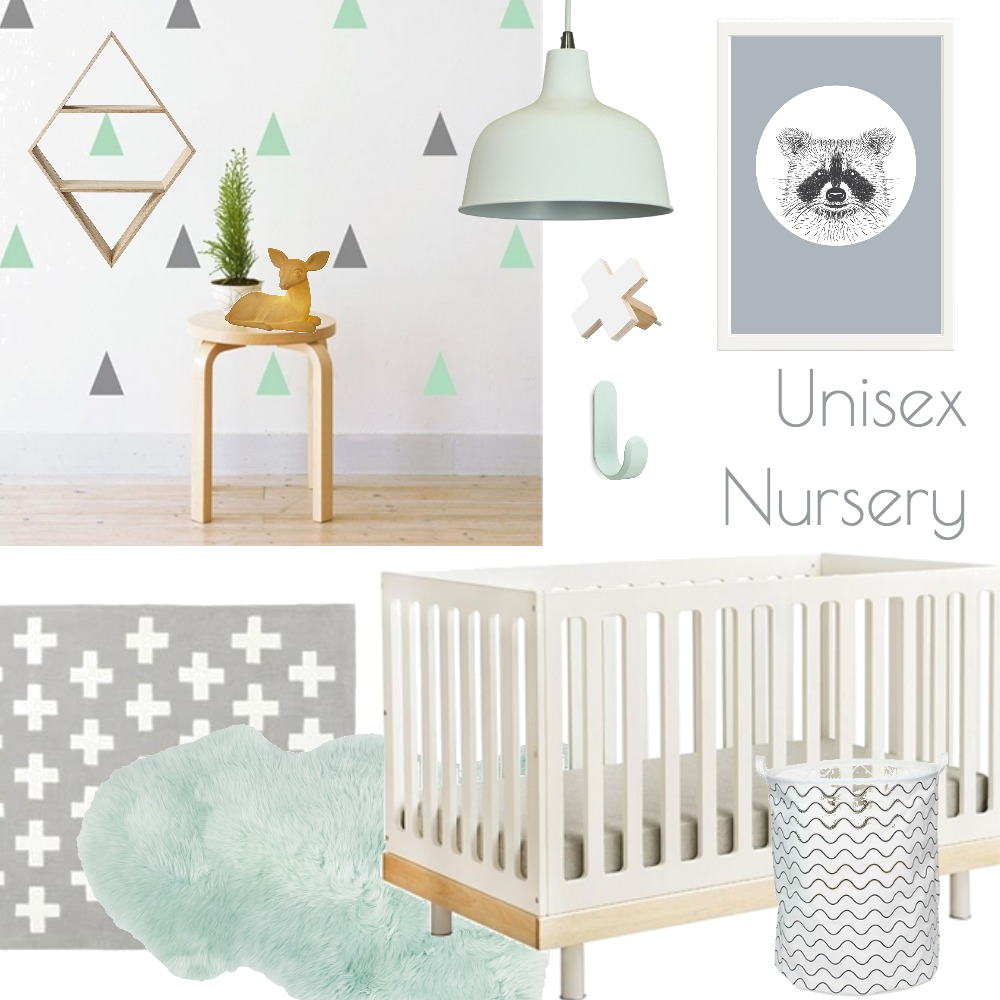 Unisex Nursery Mood Board by Makers Ink on Style Sourcebook