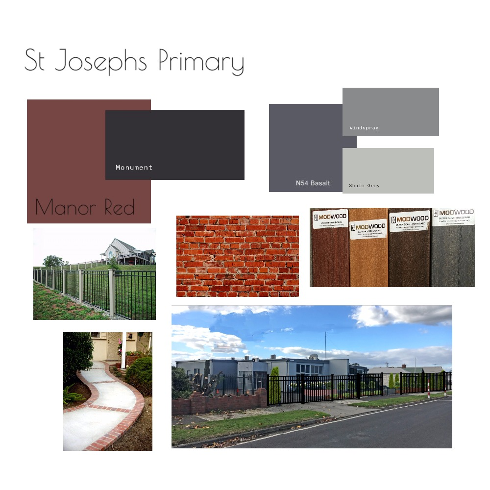 St Josephs Primary School Mood Board by Jo Daly Interiors on Style Sourcebook