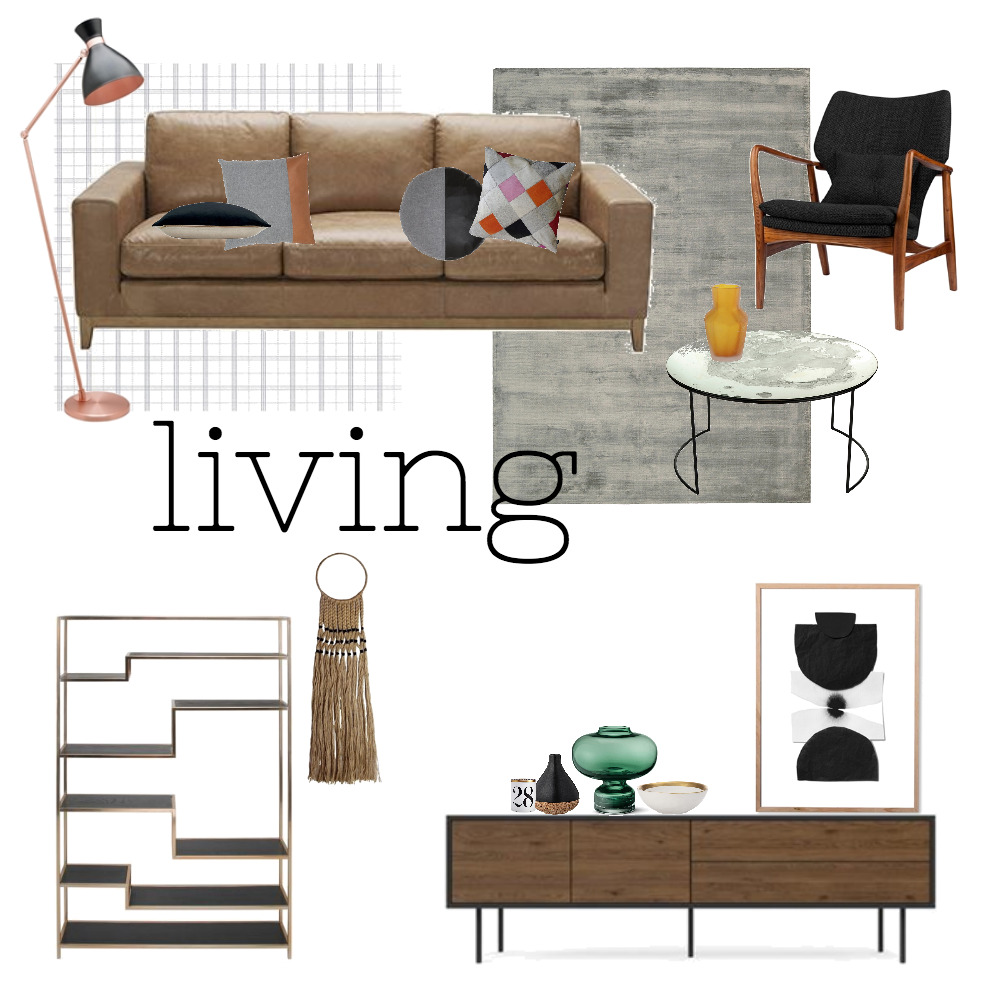 Eclectic living Mood Board by jessbarnes on Style Sourcebook