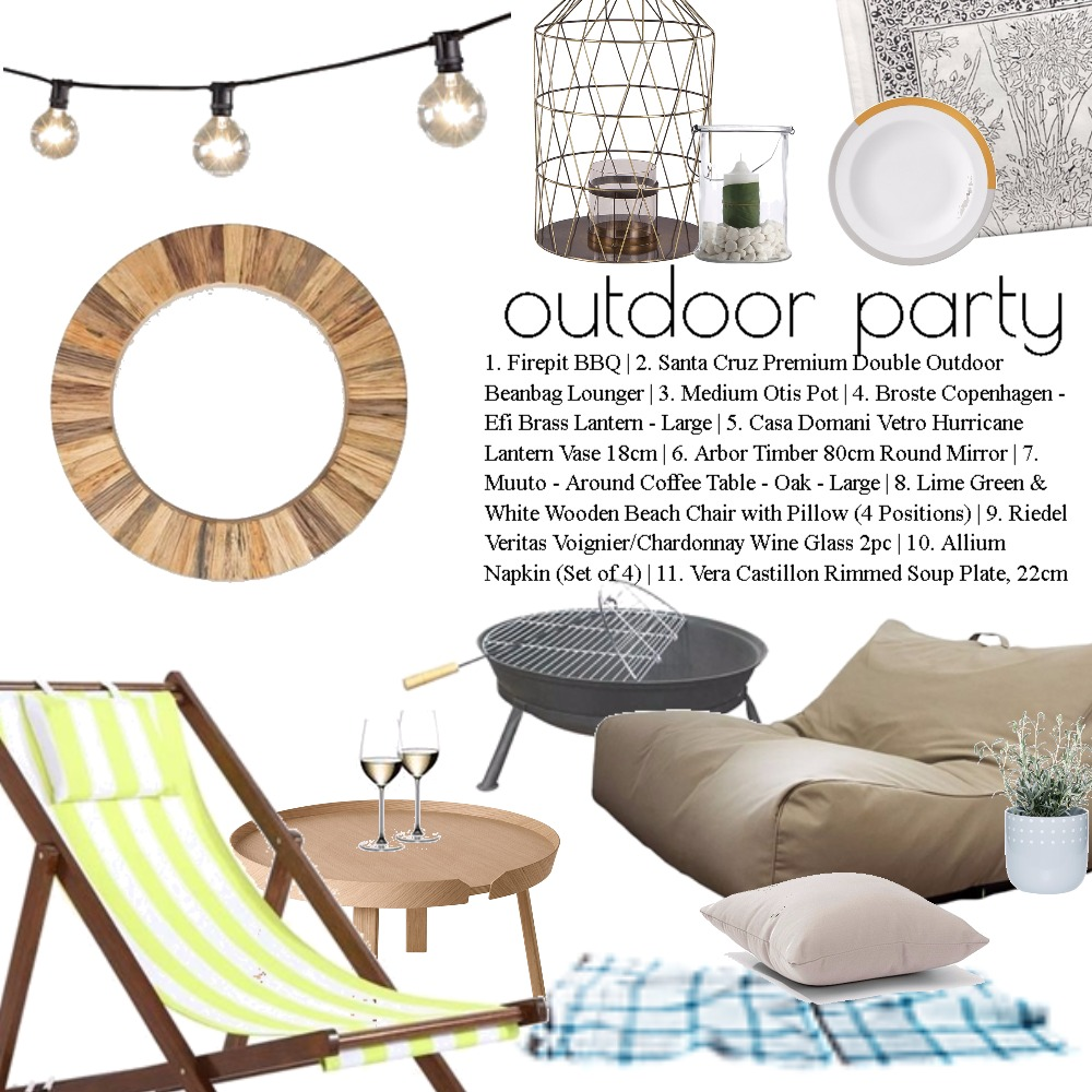 Outdoor party Mood Board by Dian Lado on Style Sourcebook