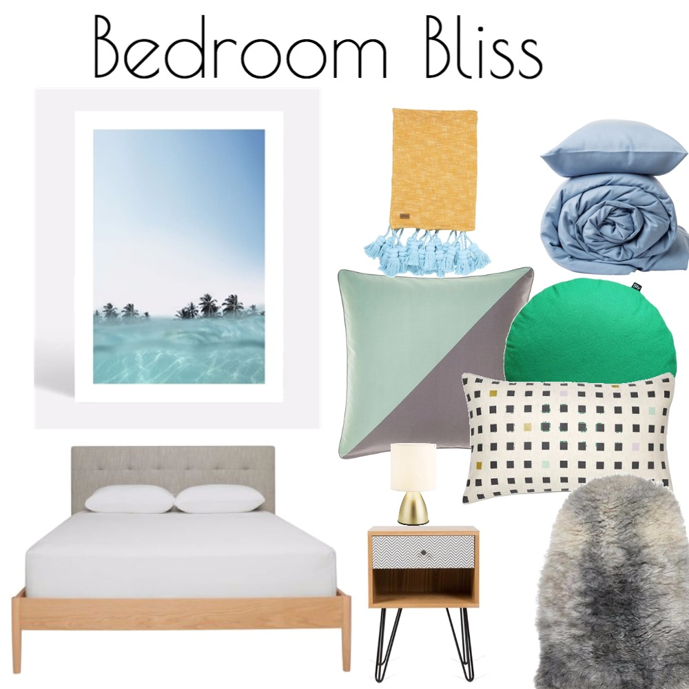 BedroomBliss Mood Board by Interior Designstein on Style Sourcebook