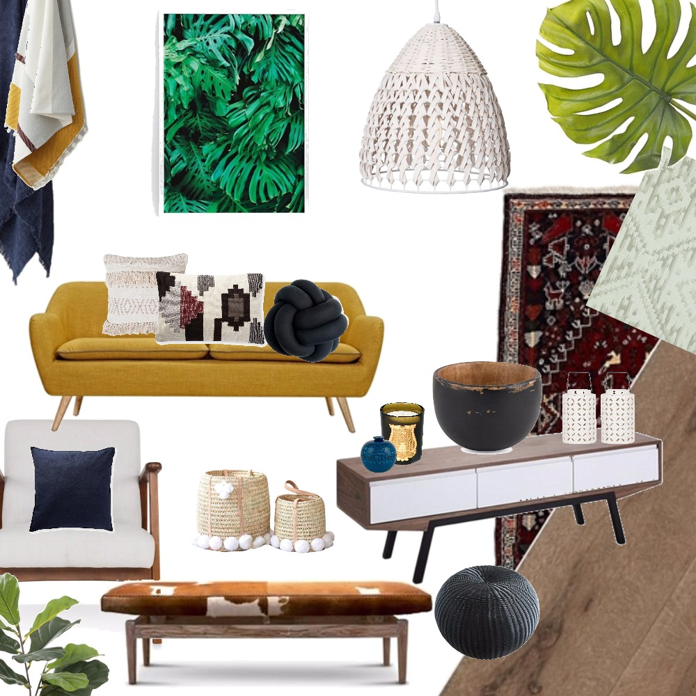 BOHO Mood Board by sue on Style Sourcebook
