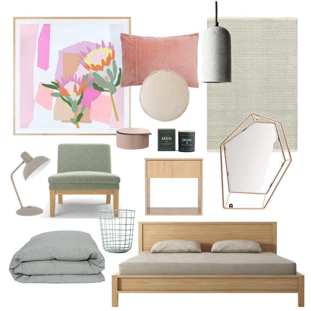 Girls Bedroom Retreat Mood Board by harriehighpants on Style Sourcebook