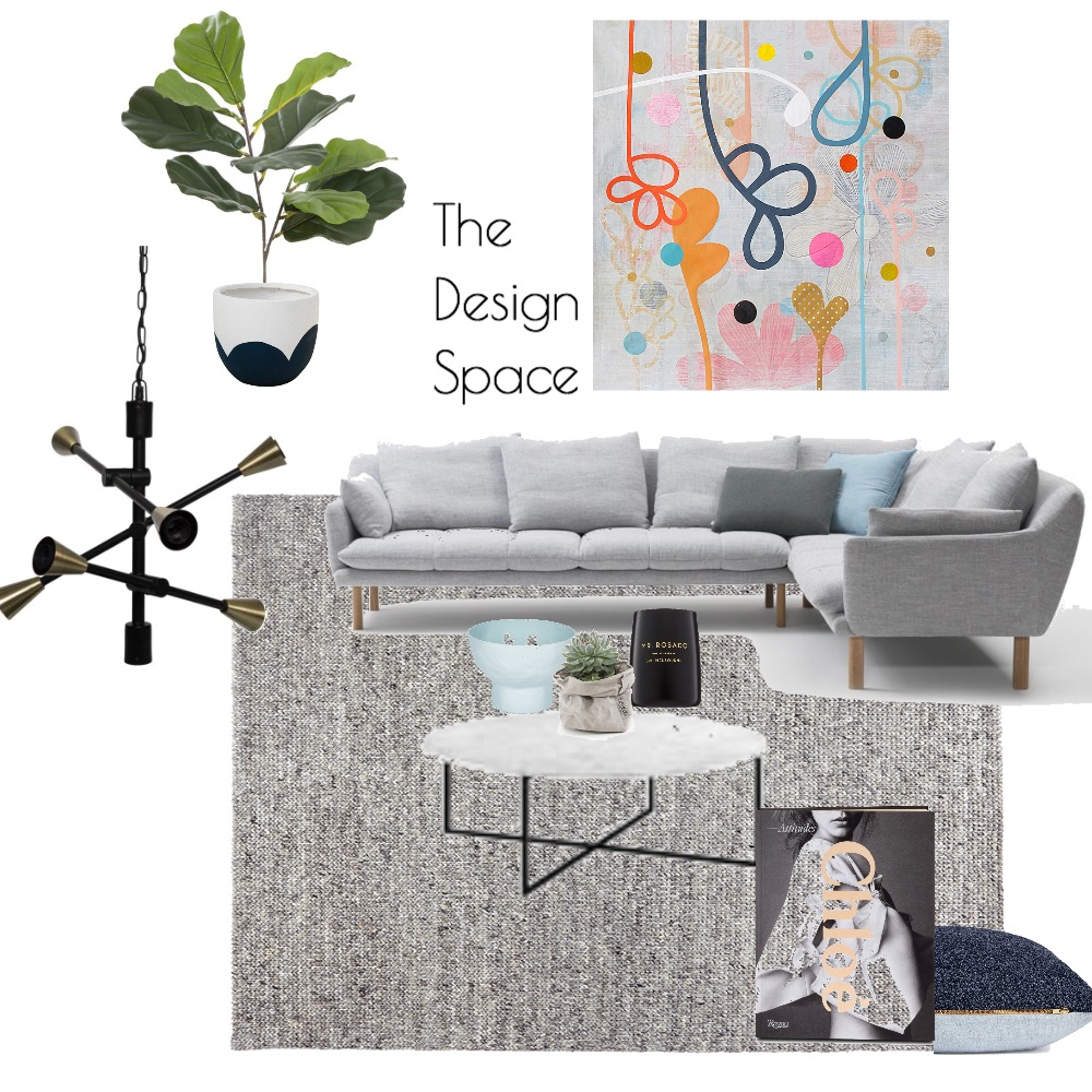 Living Room Interior Design Mood Board by TheDesignSpace on Style Sourcebook