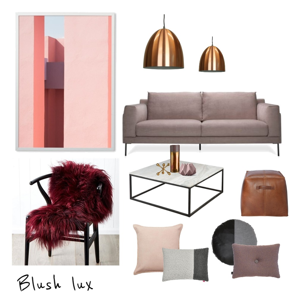 Blush lux Interior Design Mood Board by Studio Black Interiors on Style Sourcebook