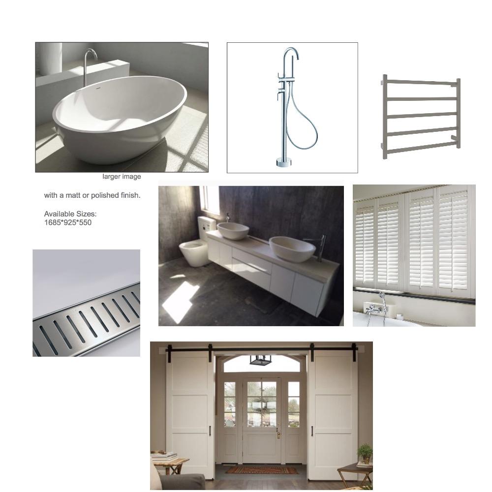 Ensuite Bathroom Mood Board by sarahgoldring on Style Sourcebook