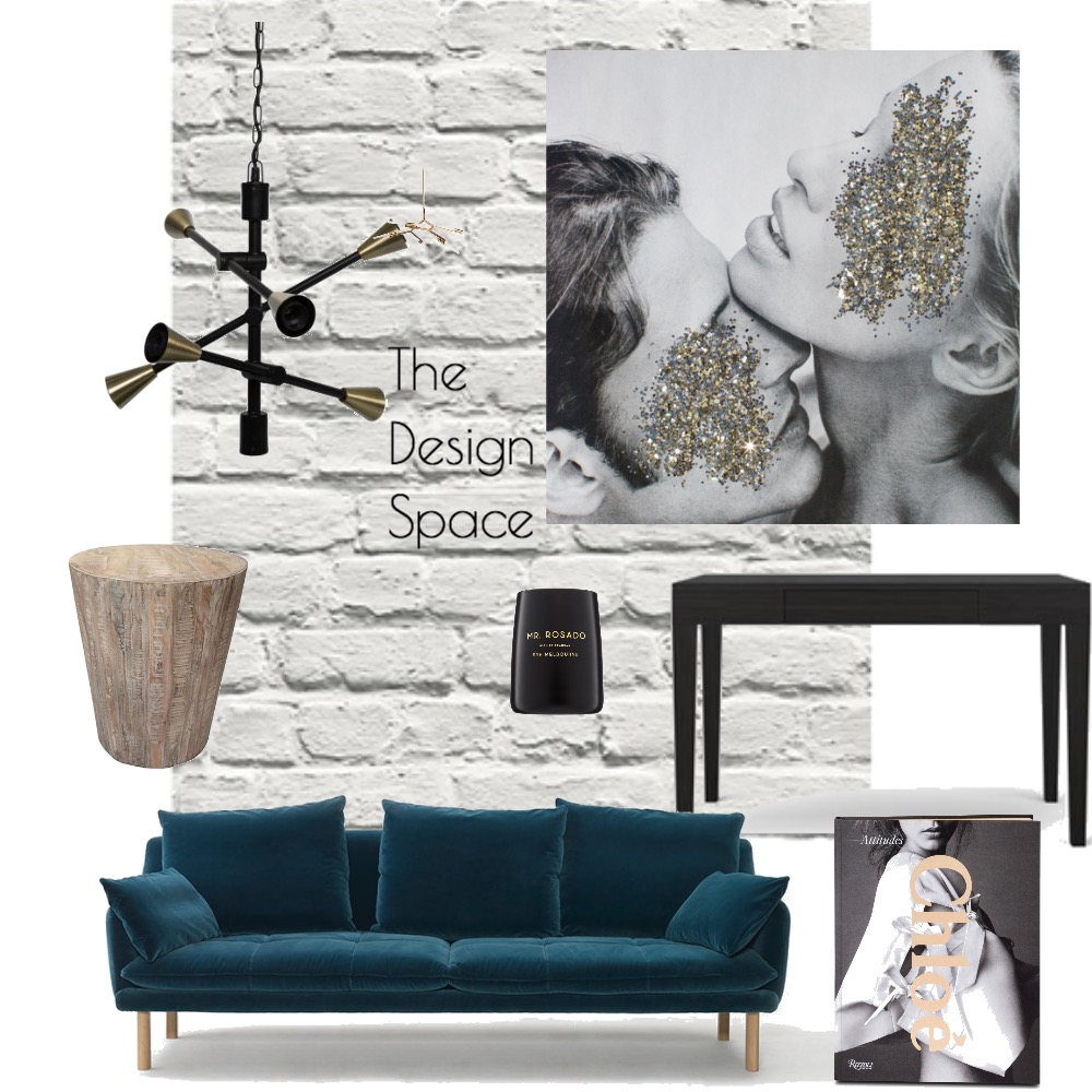 Luxe Living Room Mood Board by TheDesignSpace on Style Sourcebook