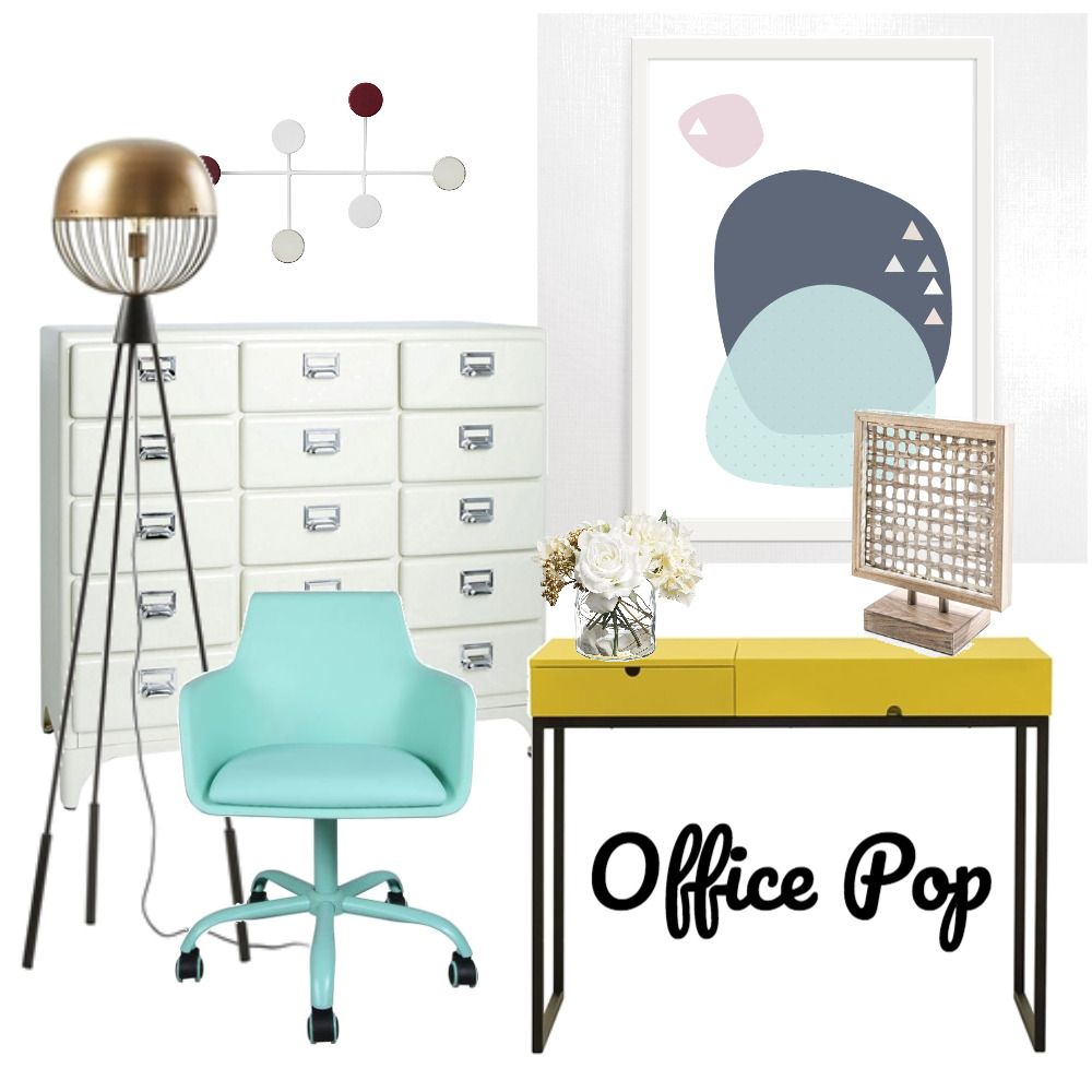 Office Pop Mood Board by The Leadership Designers on Style Sourcebook