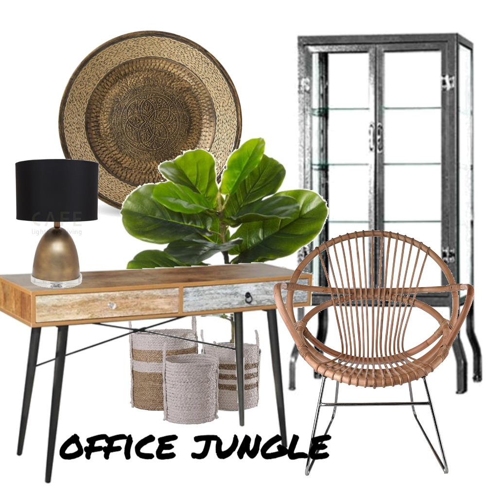 Office Jungle Mood Board by The Leadership Designers on Style Sourcebook
