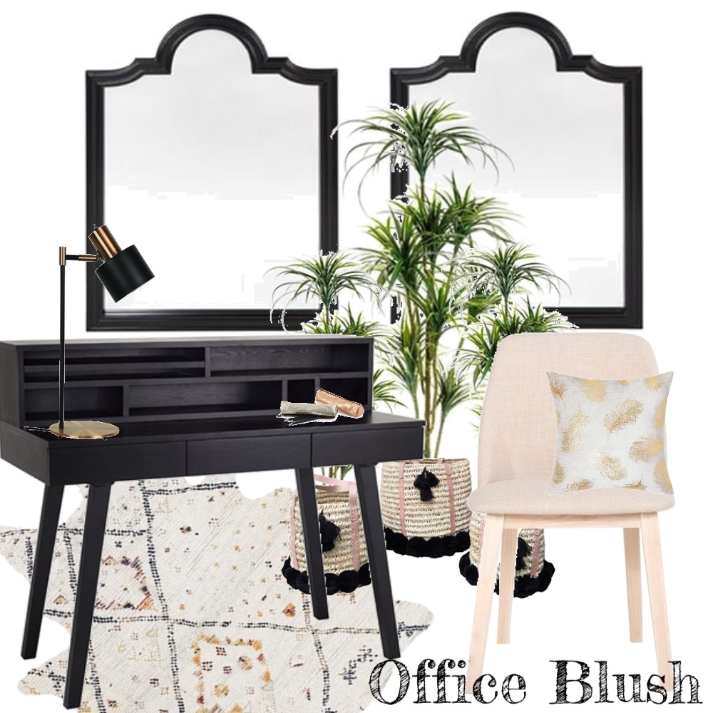 Office Blush Mood Board by The Leadership Designers on Style Sourcebook