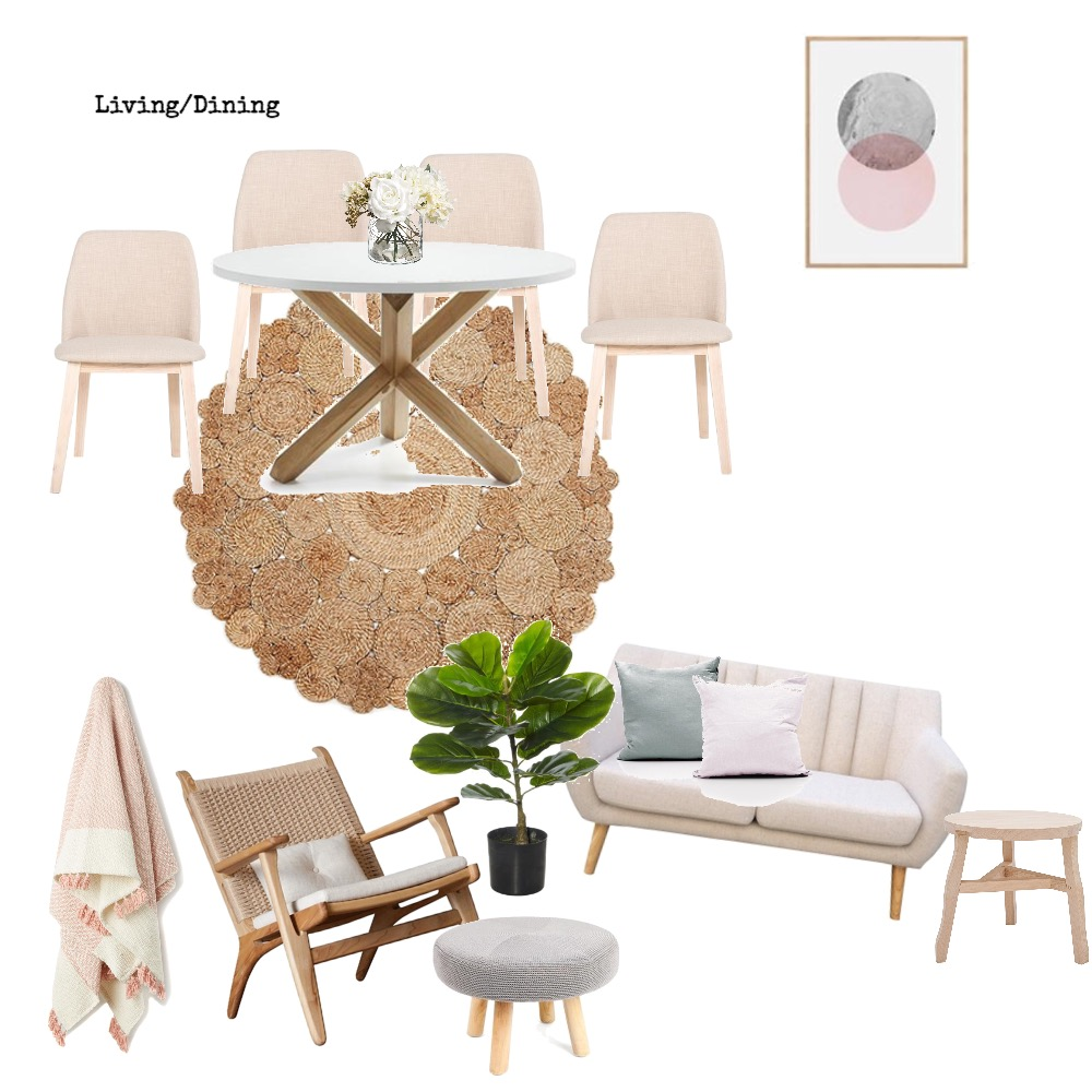 Dining/Living Mood Board by Mary on Style Sourcebook