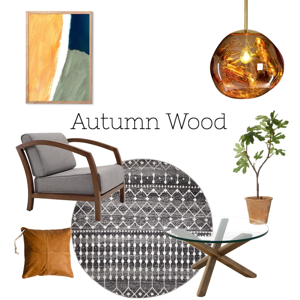 Autumn Wood Mood Board by nancyitaliano on Style Sourcebook