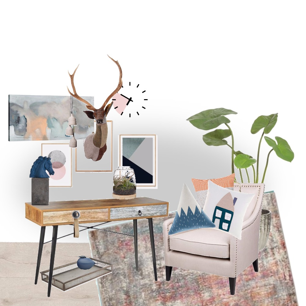 AWD Working Desk Mood Board by afterworkdiy on Style Sourcebook