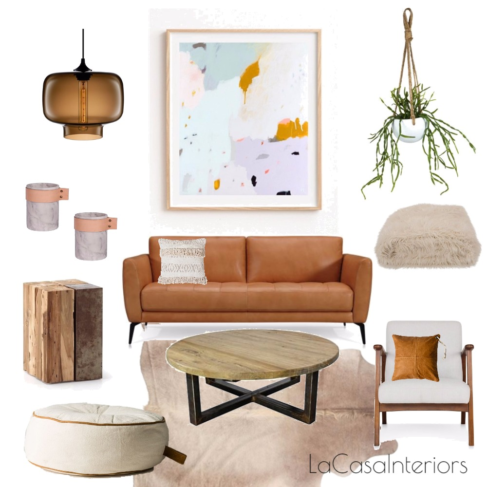Living room with natural textures Mood Board by Casa & Co Interiors on Style Sourcebook