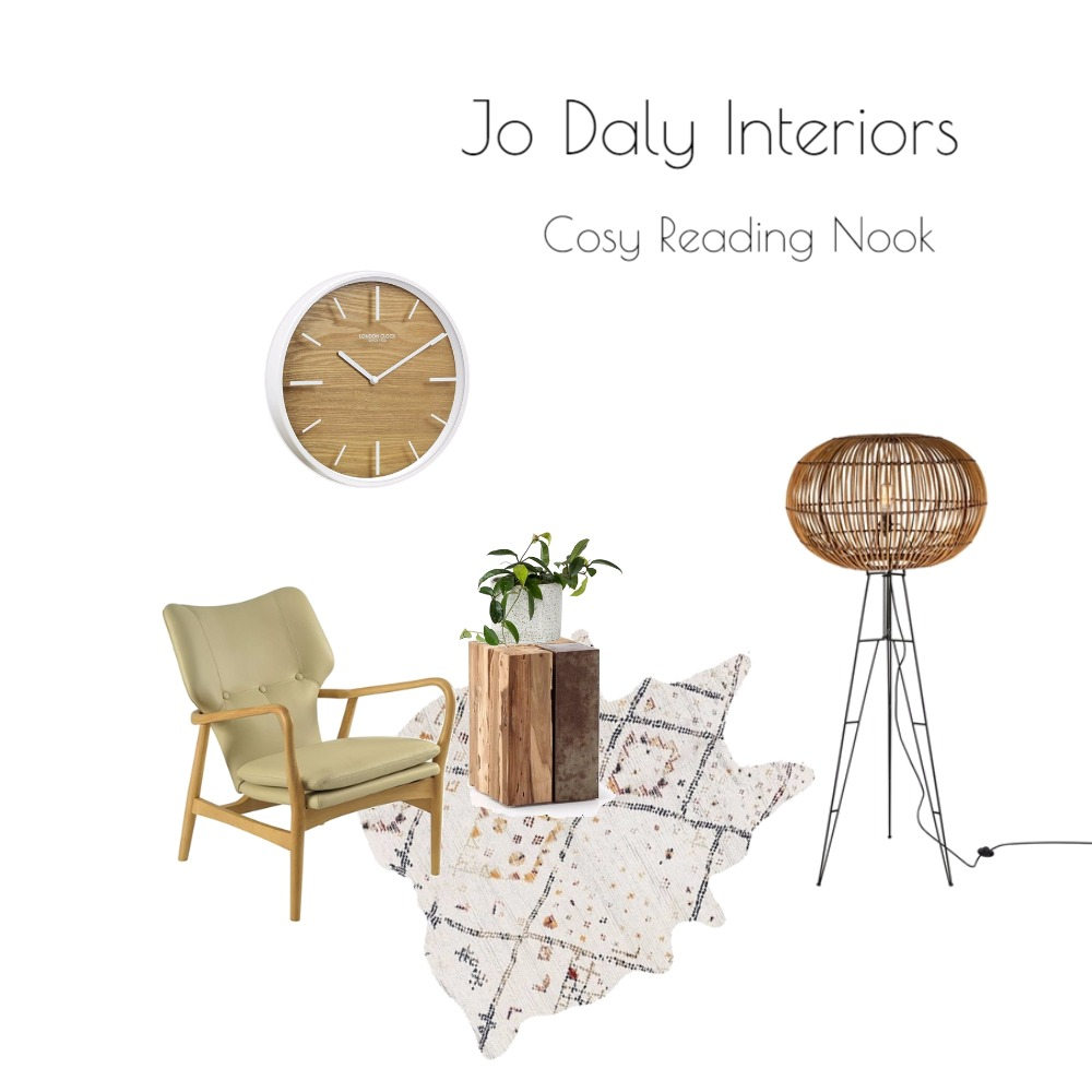 Reading Nook Mood Board by Jo Daly Interiors on Style Sourcebook