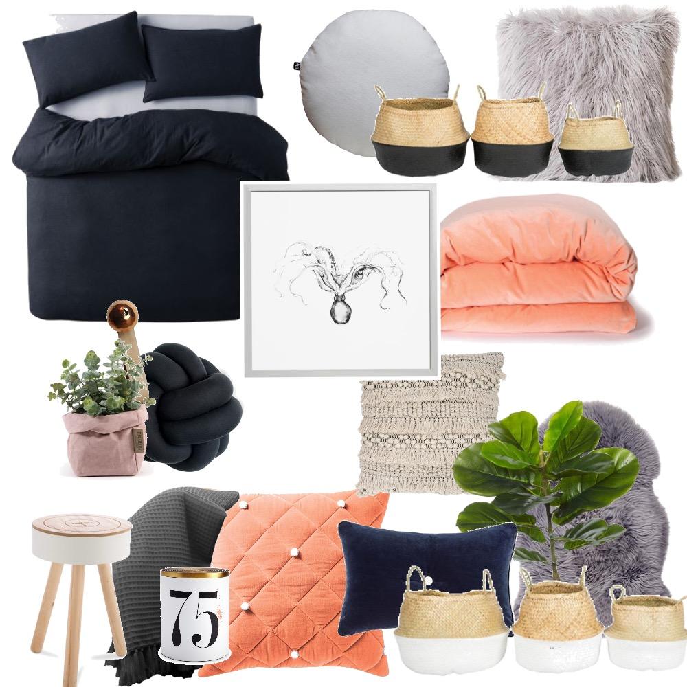 mia's bedroom Mood Board by mia.dimech on Style Sourcebook
