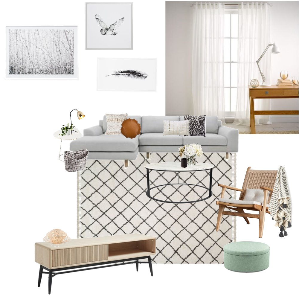 whimsical living Mood Board by Hookedoninteriors on Style Sourcebook