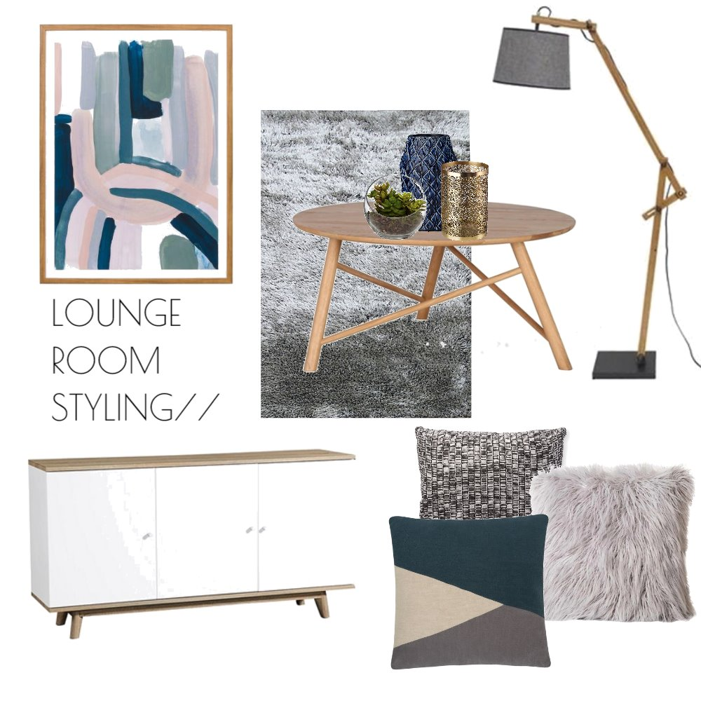 Lounge Room Styling Mood Board by Melissa on Style Sourcebook