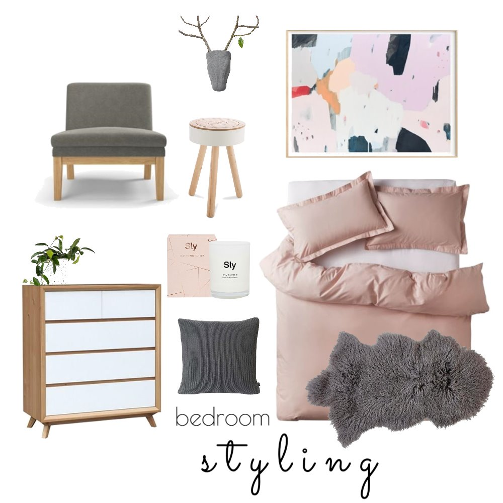 Bedroom Interior Design Mood Board by Rebecca Kurka on Style Sourcebook
