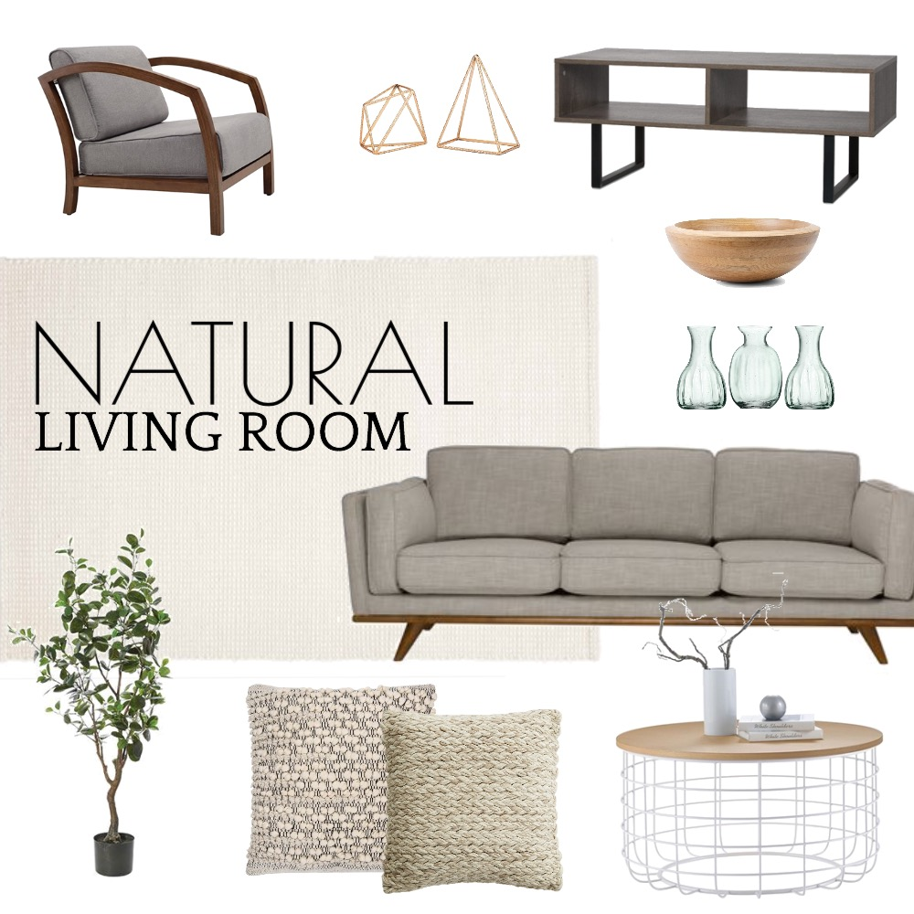 Natural Living Room Mood Board by Fmi_1 on Style Sourcebook
