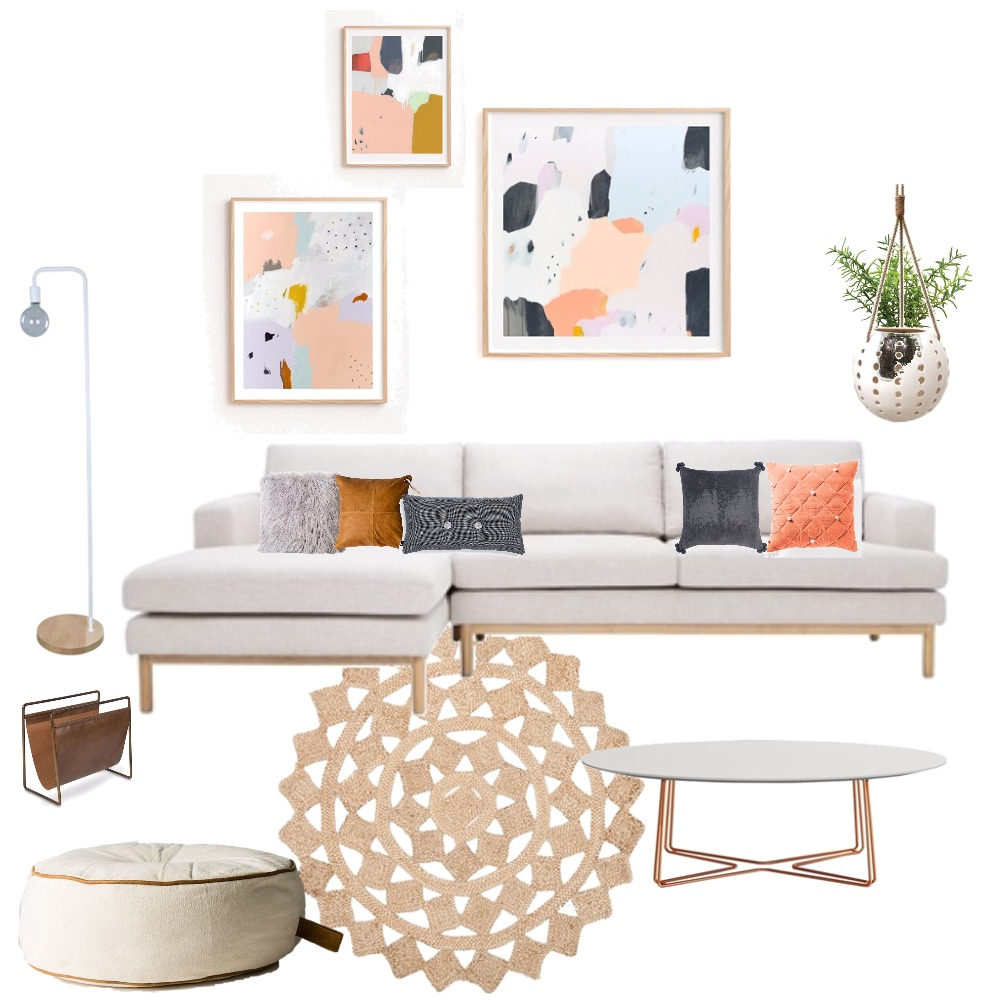 Fresh Living Space Mood Board by jakandcodesign on Style Sourcebook