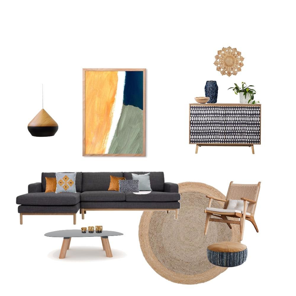 Modern Boho Mood Board by sm1411 on Style Sourcebook