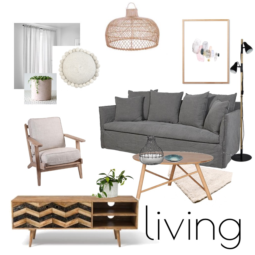 Living Interior Design Mood Board by offtheshelf_ on Style Sourcebook