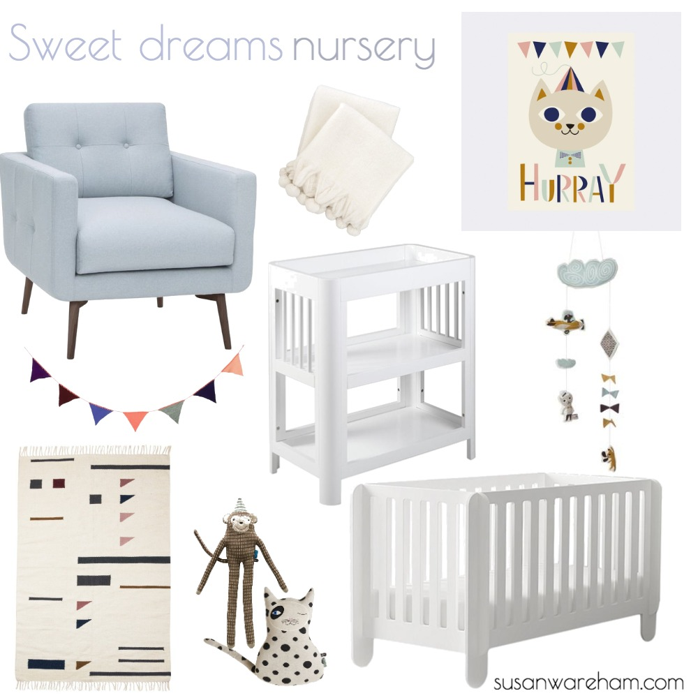 Sweet dreams nursery Mood Board by  studioluci.design on Style Sourcebook