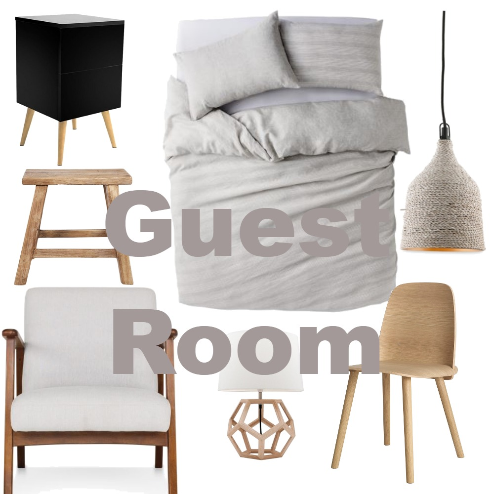 Guest Room Mood Board by nberes on Style Sourcebook