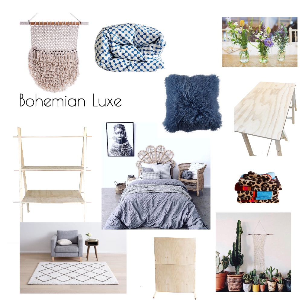 Boho Luxe Market Stall Mood Board by TheDesignSpace on Style Sourcebook