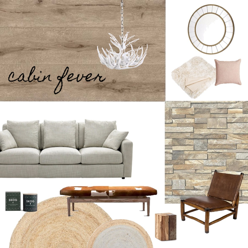 Cabin Fever Interior Design Mood Board by Brooke Fiddaman on Style Sourcebook