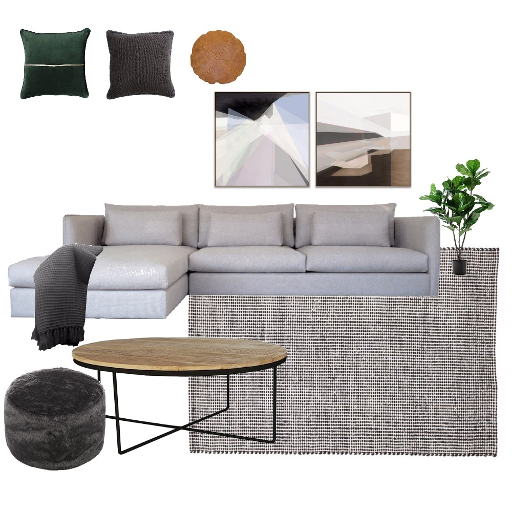 Luxe Lounge Mood Board by Melissa on Style Sourcebook