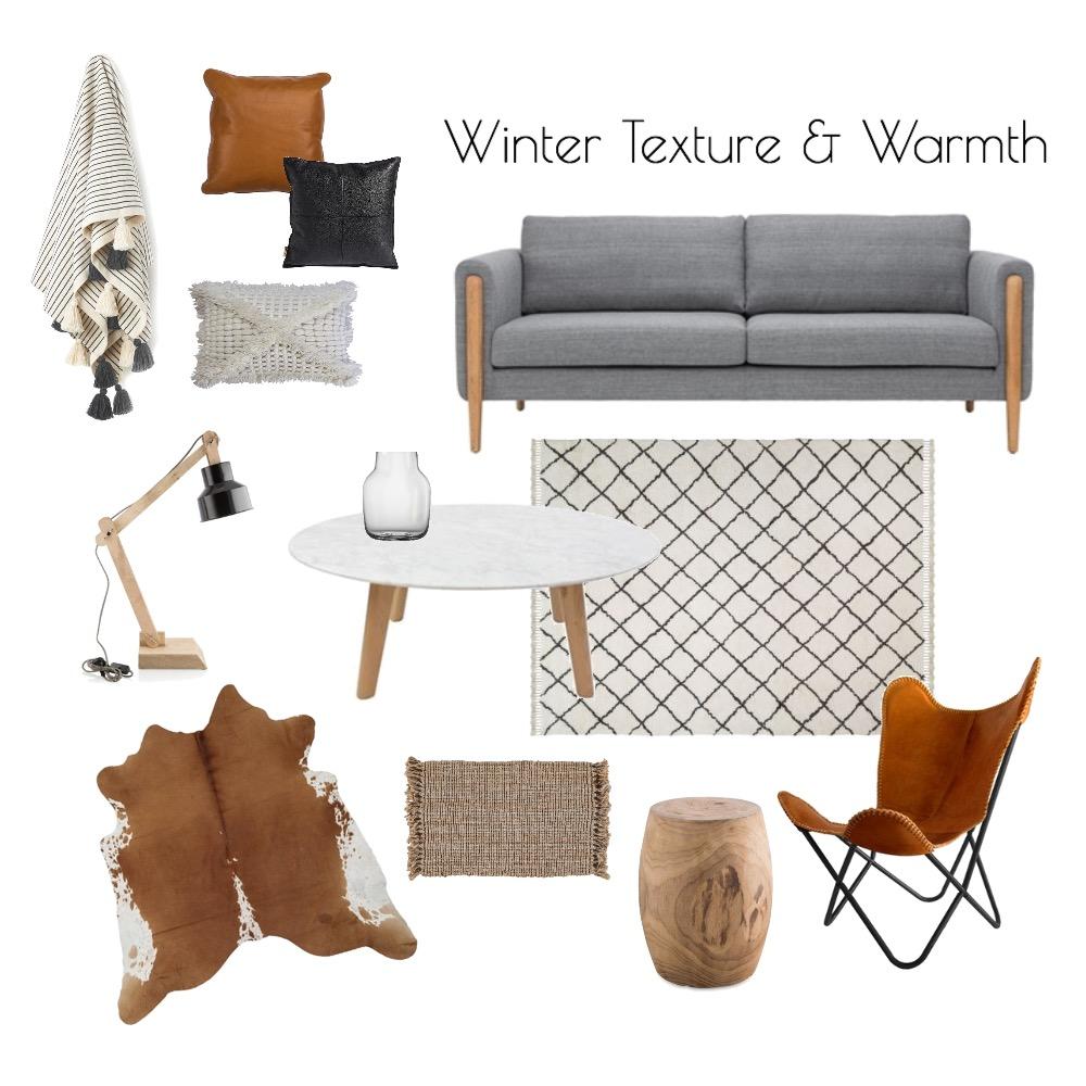 Winter Texture & Warmth Mood Board by Meldzam on Style Sourcebook