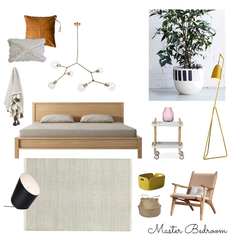 Master Bedroom Mood Board by My Mini Abode on Style Sourcebook