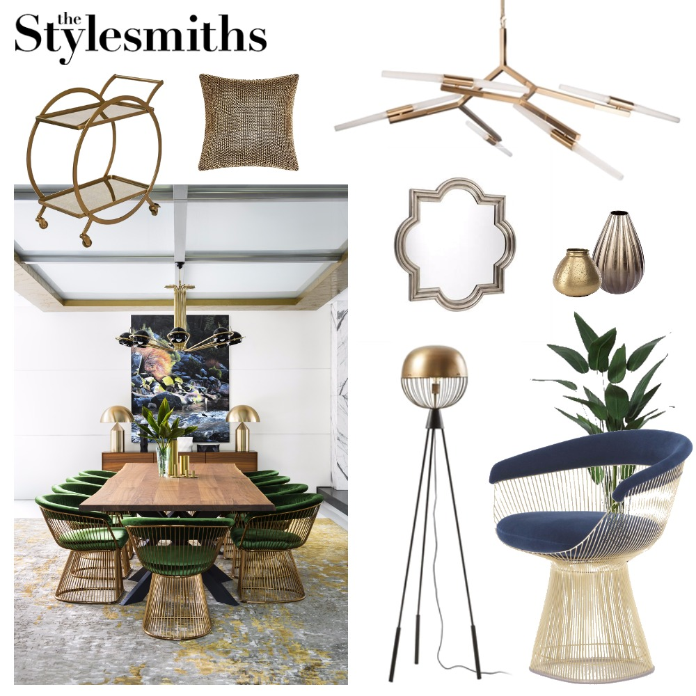 Luxe Living Mood Board by The Stylesmiths on Style Sourcebook
