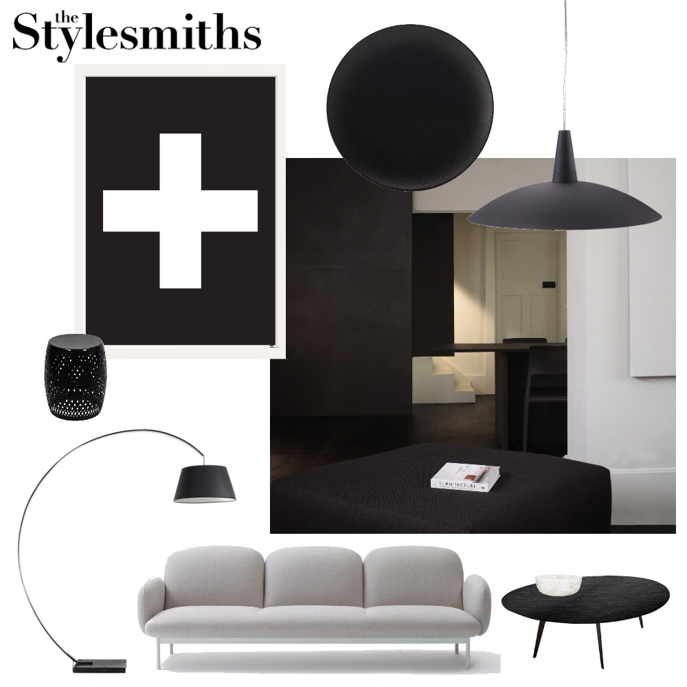 Monochrome Heaven Interior Design Mood Board by The Stylesmiths on Style Sourcebook