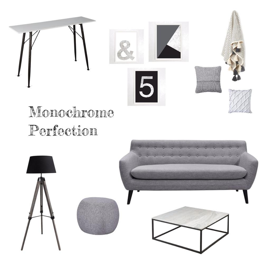 Monochrome Perfection Mood Board by stilettosbricks on Style Sourcebook