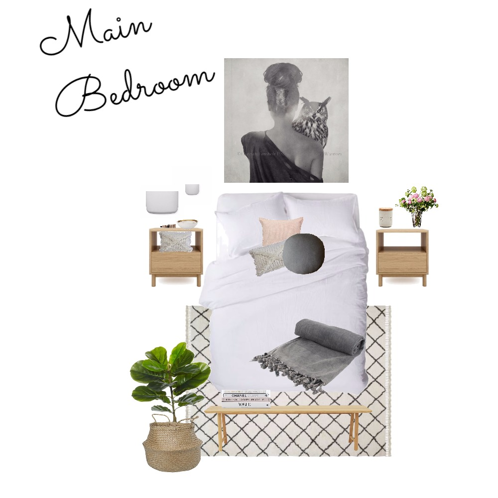 Main Bedroom Mood Board by Gotstyle on Style Sourcebook
