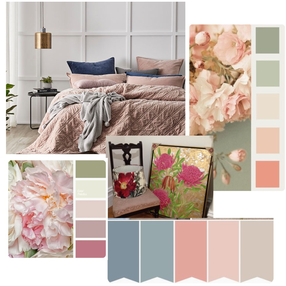 Maria's bedroom Inspiration Mood Board by Redesigned on Style Sourcebook
