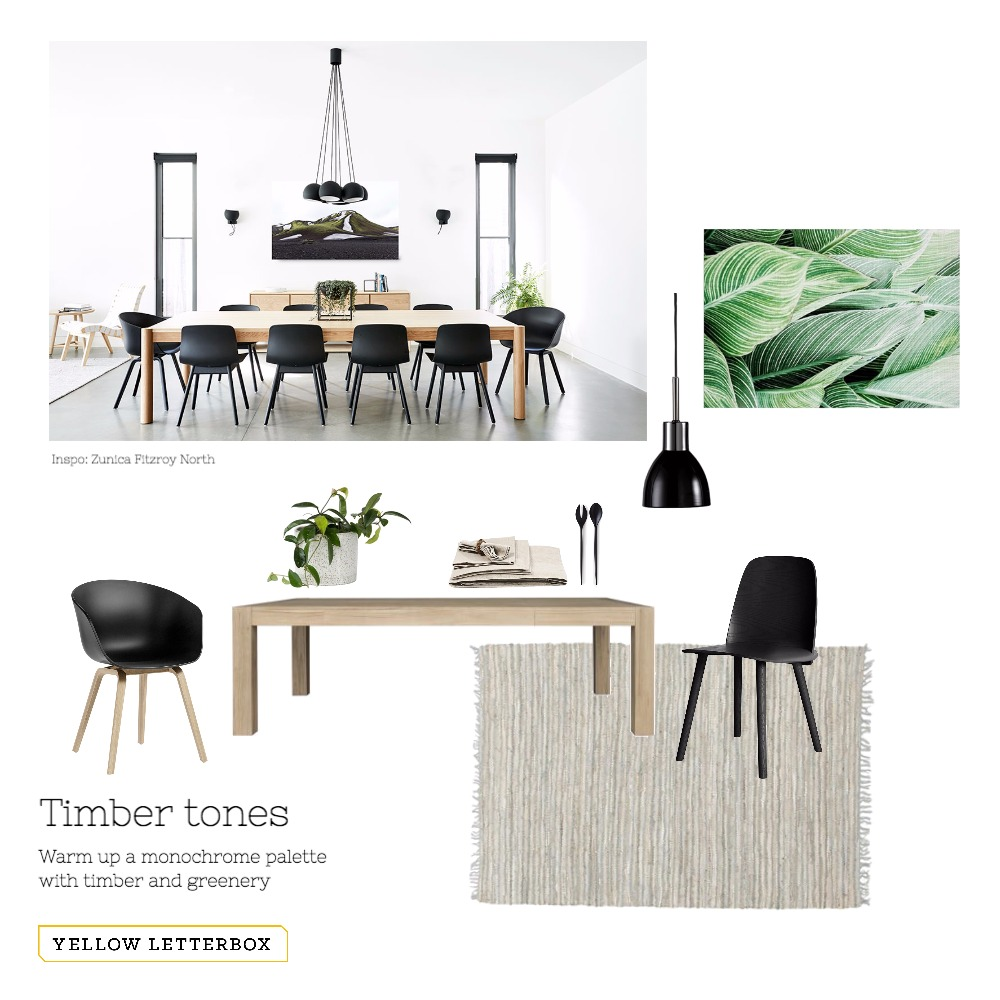 Timber tones - Dining Mood Board by Yellow Letterbox on Style Sourcebook