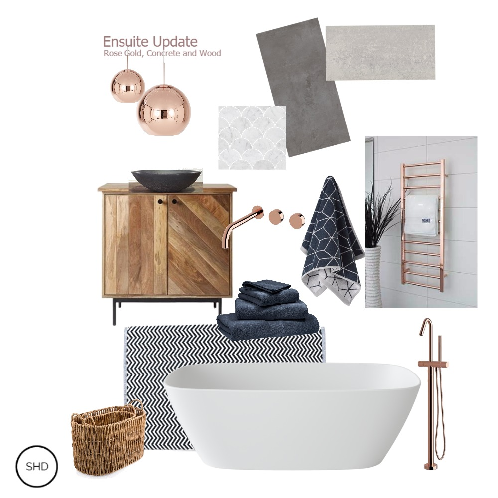Coogee Ensuite Interior Design Mood Board by SharonHarperDesign on Style Sourcebook