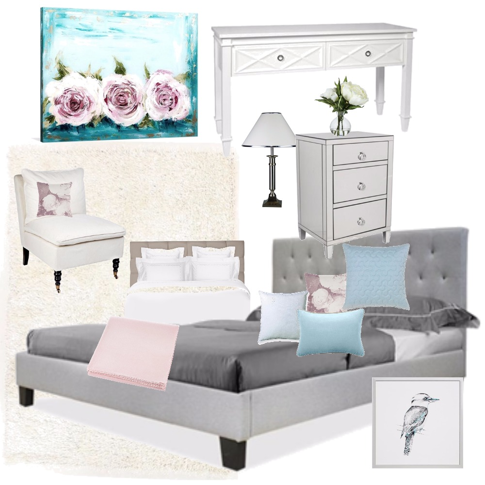 Bedroom classic romantic style Mood Board by Paula18 on Style Sourcebook