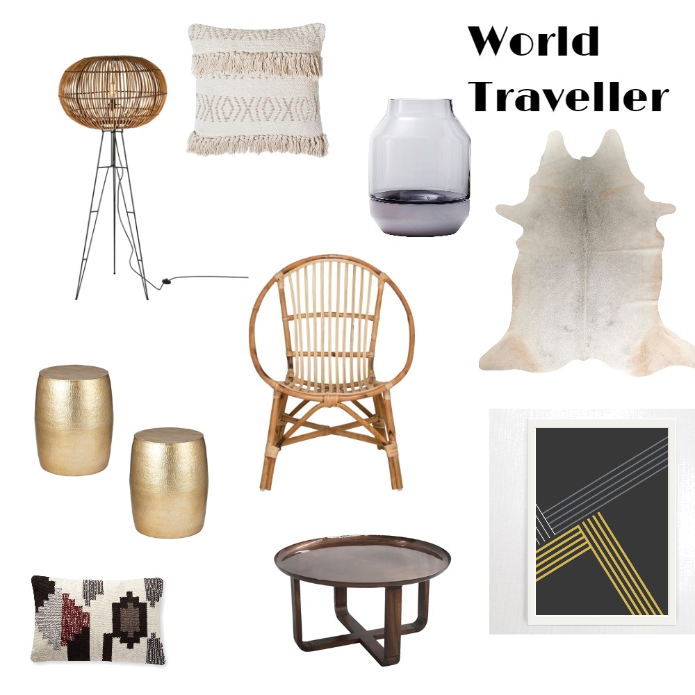 World Traveller Mood Board by Ariella on Style Sourcebook