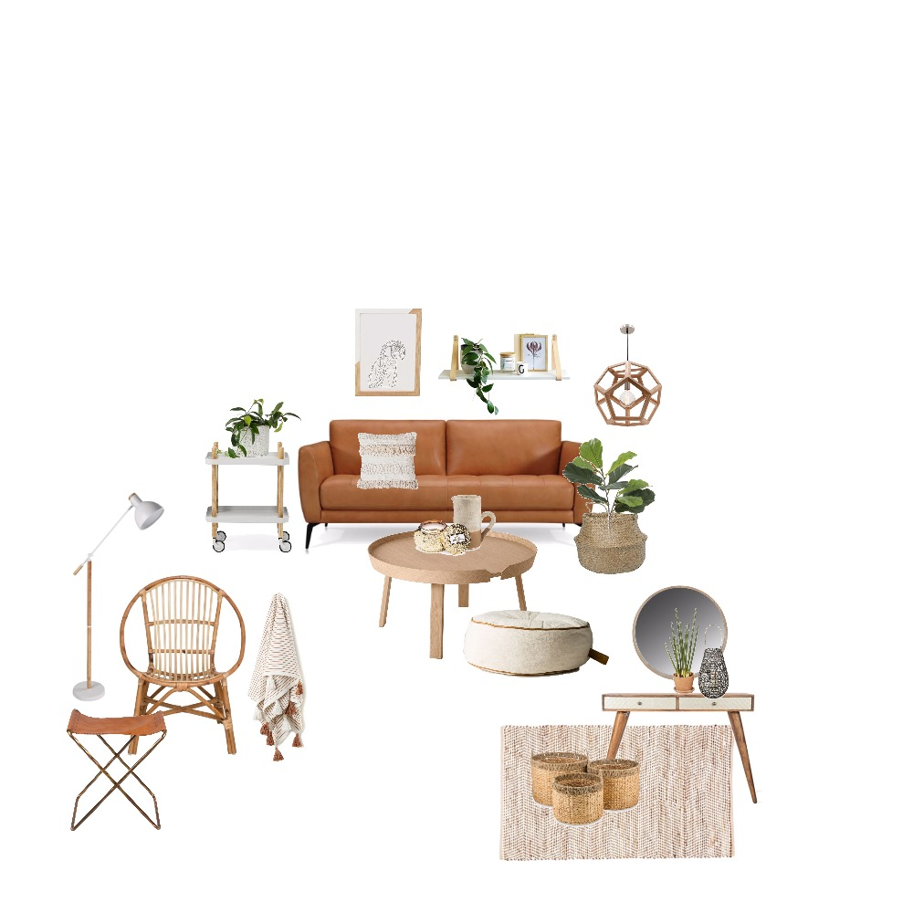 Natural Living Mood Board by Thediydecorator on Style Sourcebook
