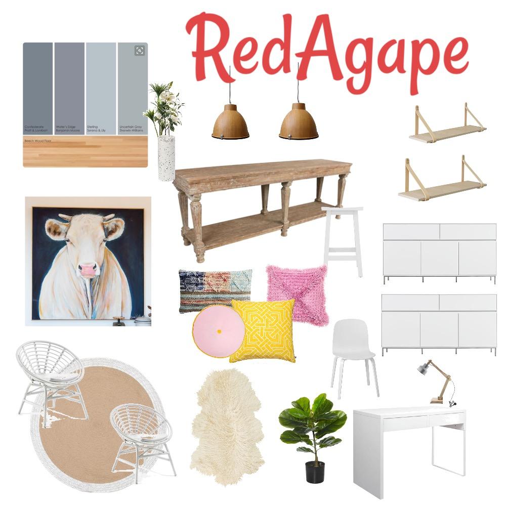 Craft Studio Mood Board by RedAgape on Style Sourcebook